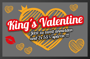 King's Valentine Deal